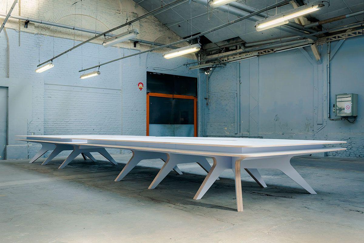 Razzle dazzle bureau d architecture table pour la fondation d