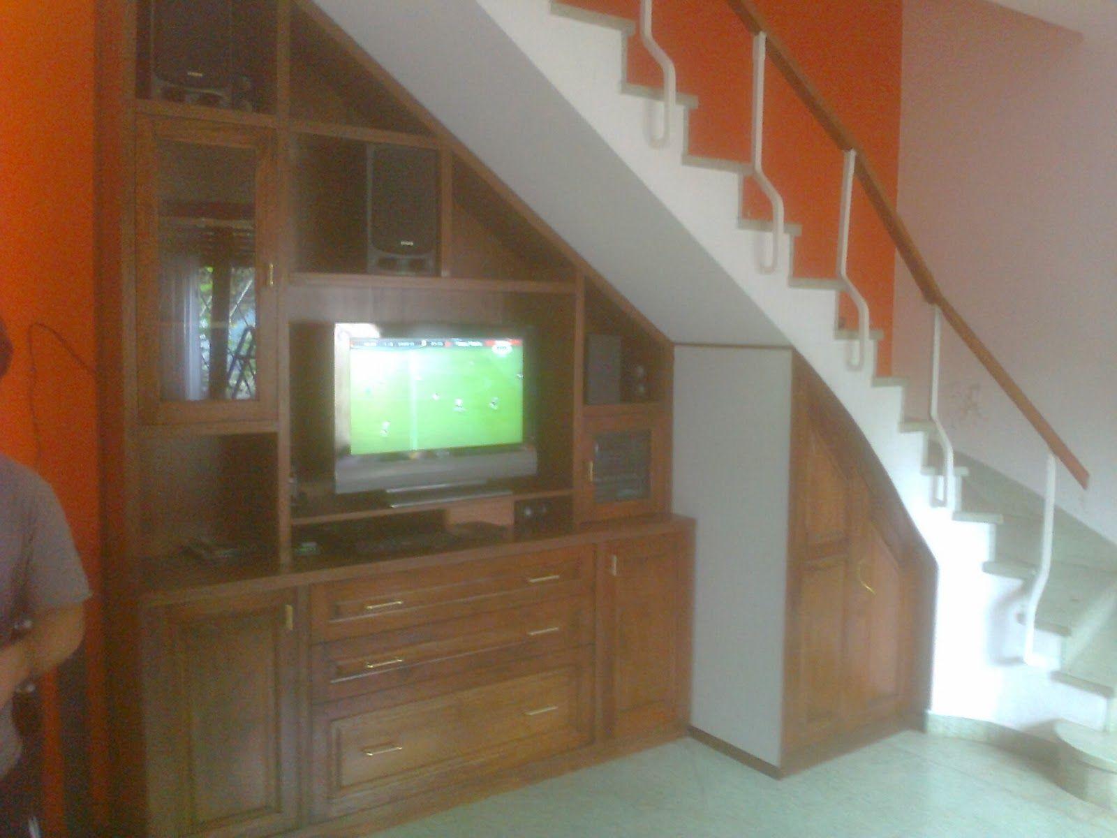 Aparador Bajo Escalera Buscar Con Google Escaleras Pinterest  # Muebles Debajo De Gradas