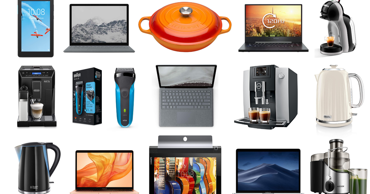 Apple MacBooks, Jura coffee machines, Le Creuset cookware, Microsoft laptops, and more on sale for Sept. 12 in the UK