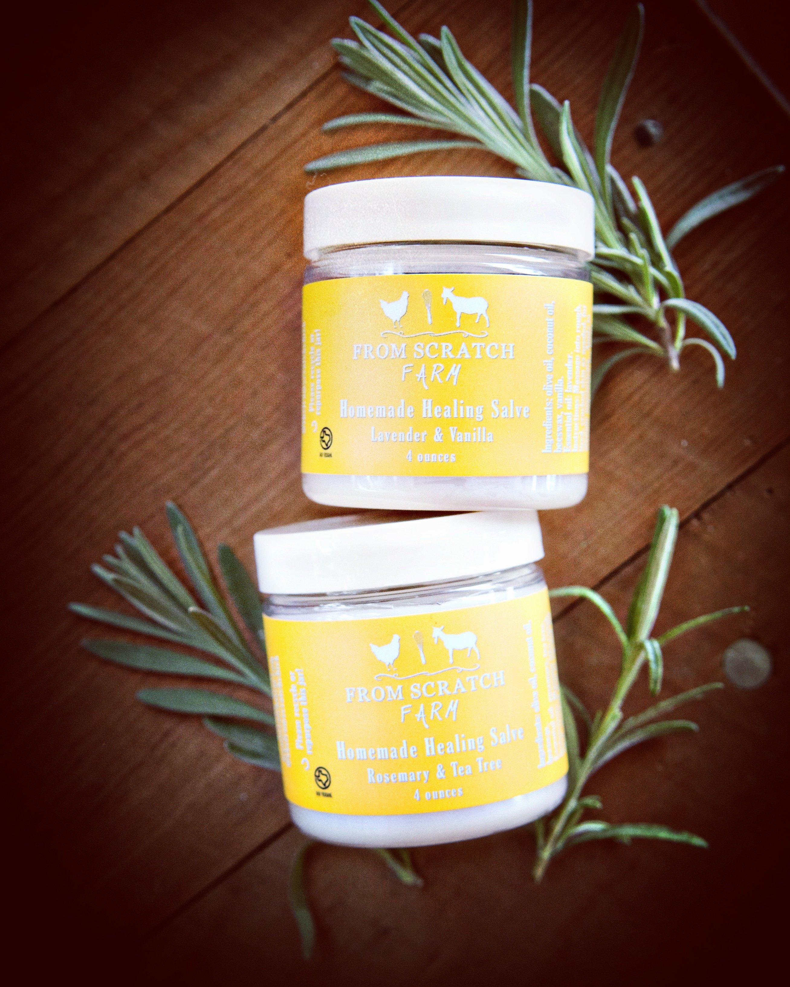 AllPurpose Salve Tea tree essential oil, Rosemary tea