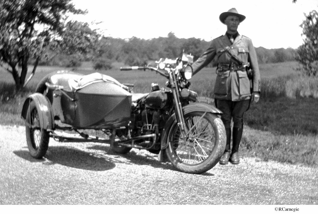 details about 1920's batavia new york state police motorcycle