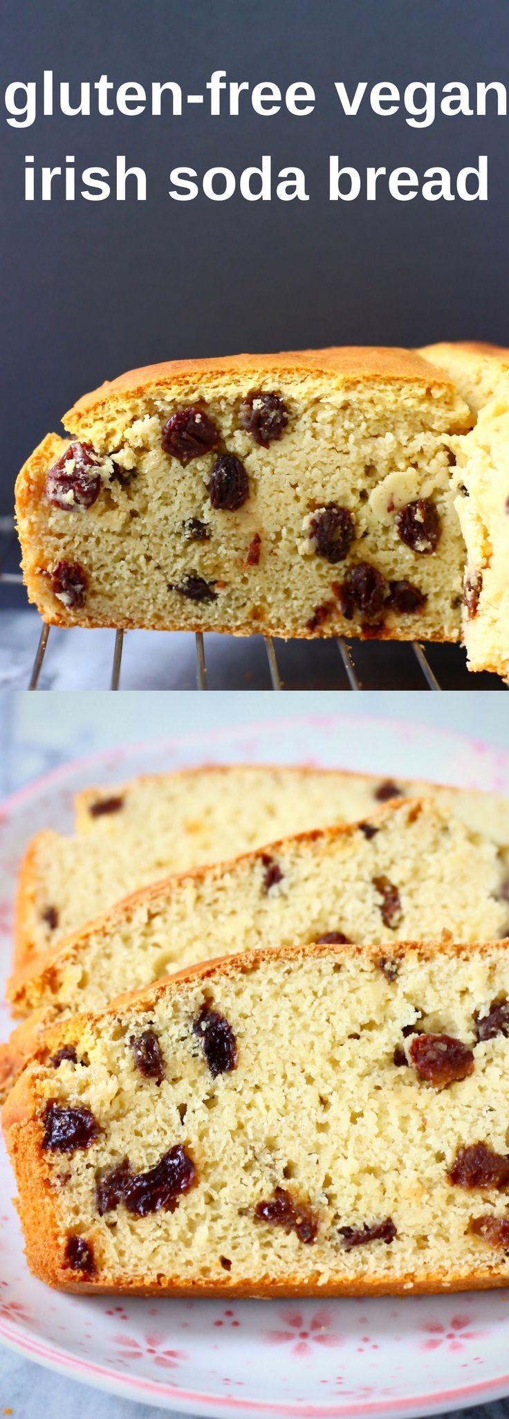 This GlutenFree Vegan Irish Soda Bread is seriously easy