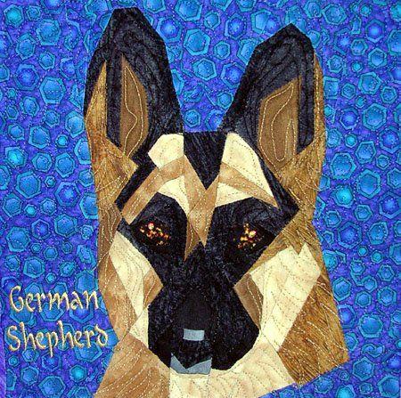 Silver Linings Canine Corner German Shepherd Learning To Sew