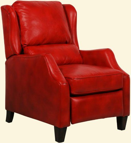 Barcalounger Berkley II Leather Recliner - Art Red...CLICK for more detail...FREE Shipping on order over $25