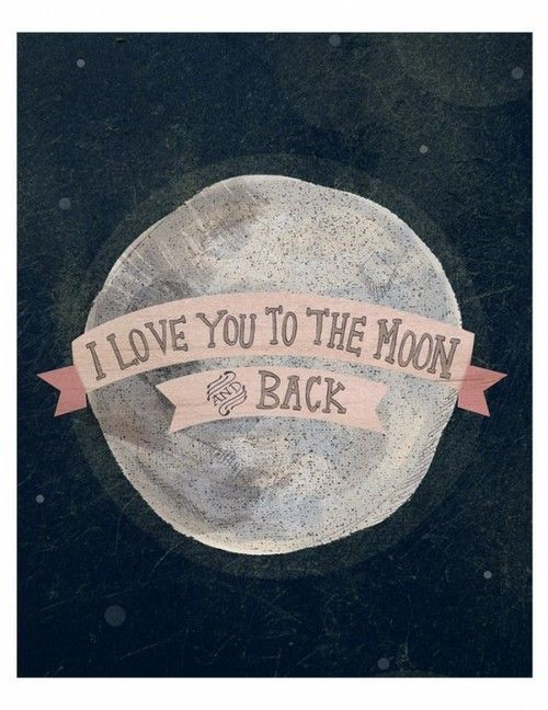 Quote I Love You To The Moon And Back Mesmerizing Origin Of Love You To The Moon And Back Wirh Moon Star Image