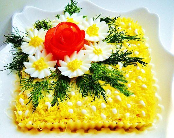 Украшение праздничные салаты и 38