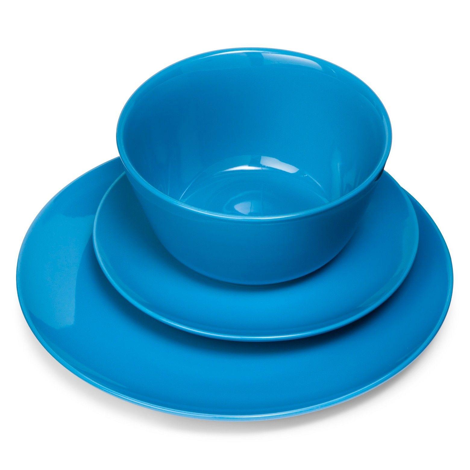 Coupe 12pc Dinnerware Set Blue Room Essentials Dinnerware