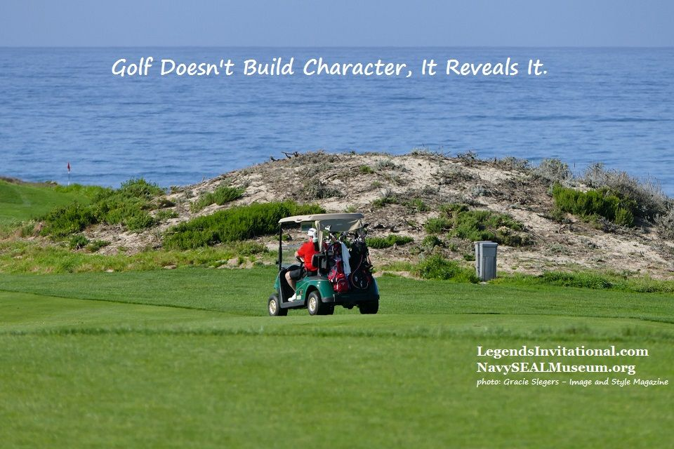 Golf Doesn't Build Character, It Reveals It!