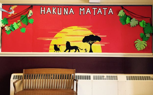 lion king bulletin board - Google Search | door decorating ...