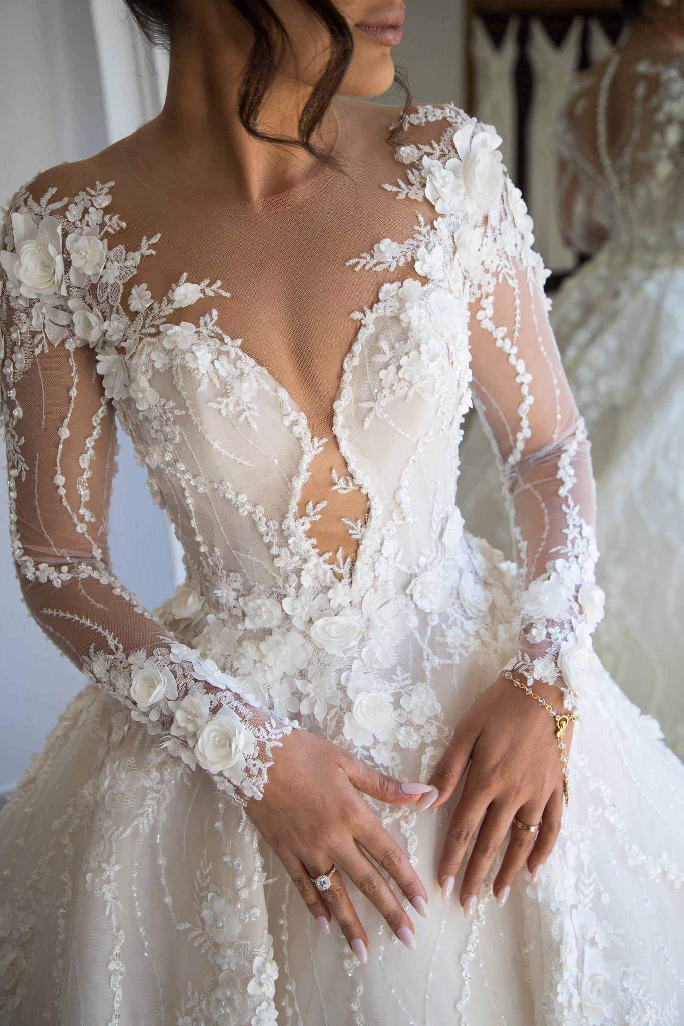 Steven Khalil Nach Maß Hochzeitskleid Im Angebot – 47% Rabatt