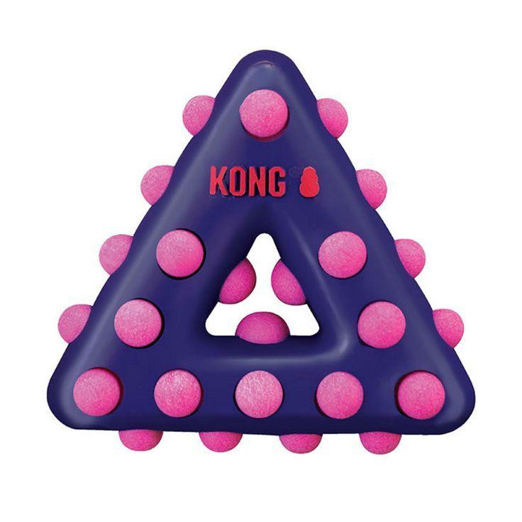Info's : KONG Dotz Dog Toy - Triangle