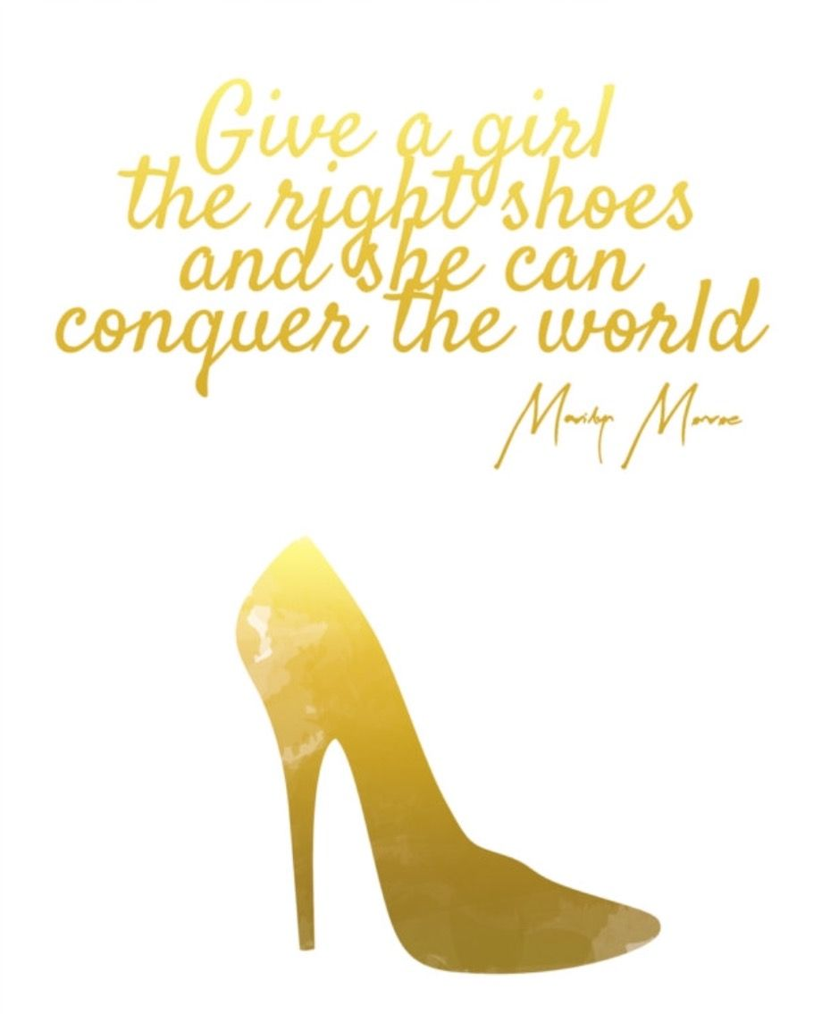 Some high heels 👠 & she can conquer the world 🌎 ! | Vanity Wall ...