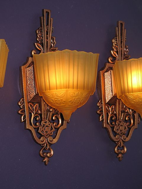 Art Deco Antique Sconces