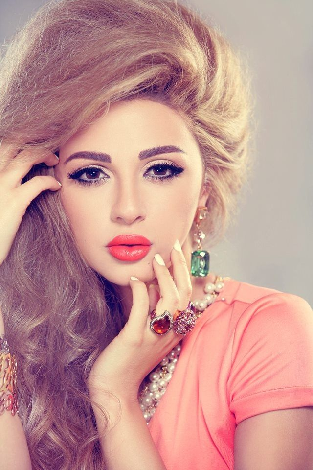 Myriam Fares Arab Beauty Beauty Hair Beauty