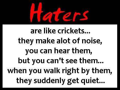 mean quotes for haters