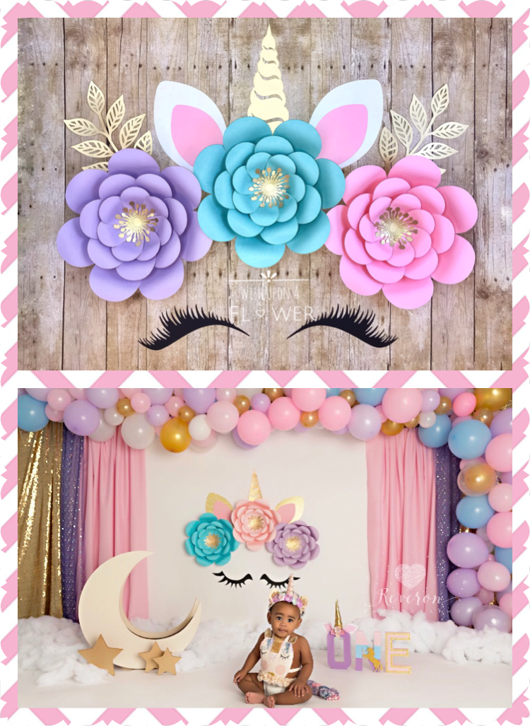 Unicorn Flower Backdrop Unicorn Party Unicorn Decorations Etsy Unicorn Birthday Decorations Unicorn Birthday Party Decorations Unicorn Themed Birthday Party