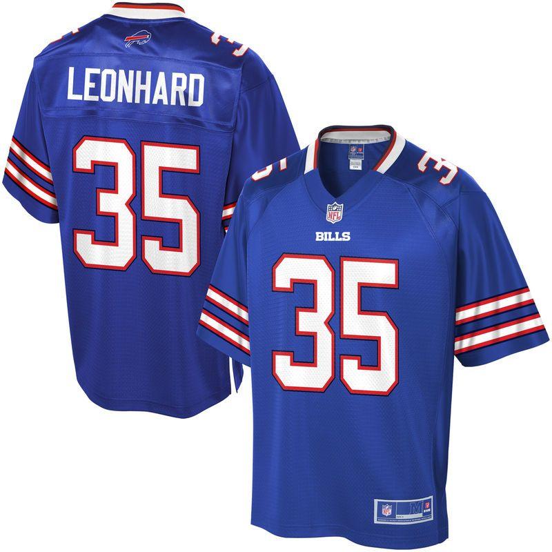 NFL Pro Line Men s Buffalo Bills Jim Leonhard Team Color Jersey ... 4b9154ede