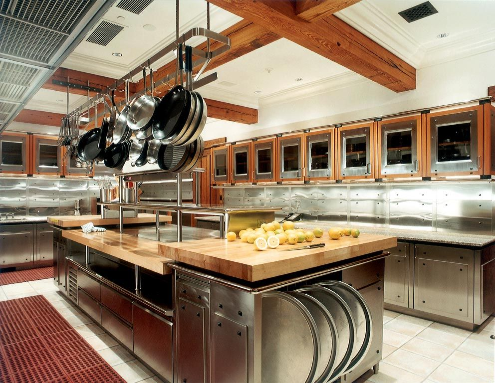 Commercial kitchens have a lot of specifications that have to be met ...