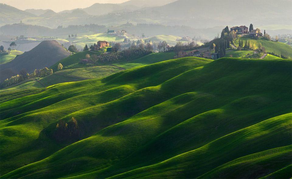 Landscape Of Tuscany, Italy By Pawel Kucharski