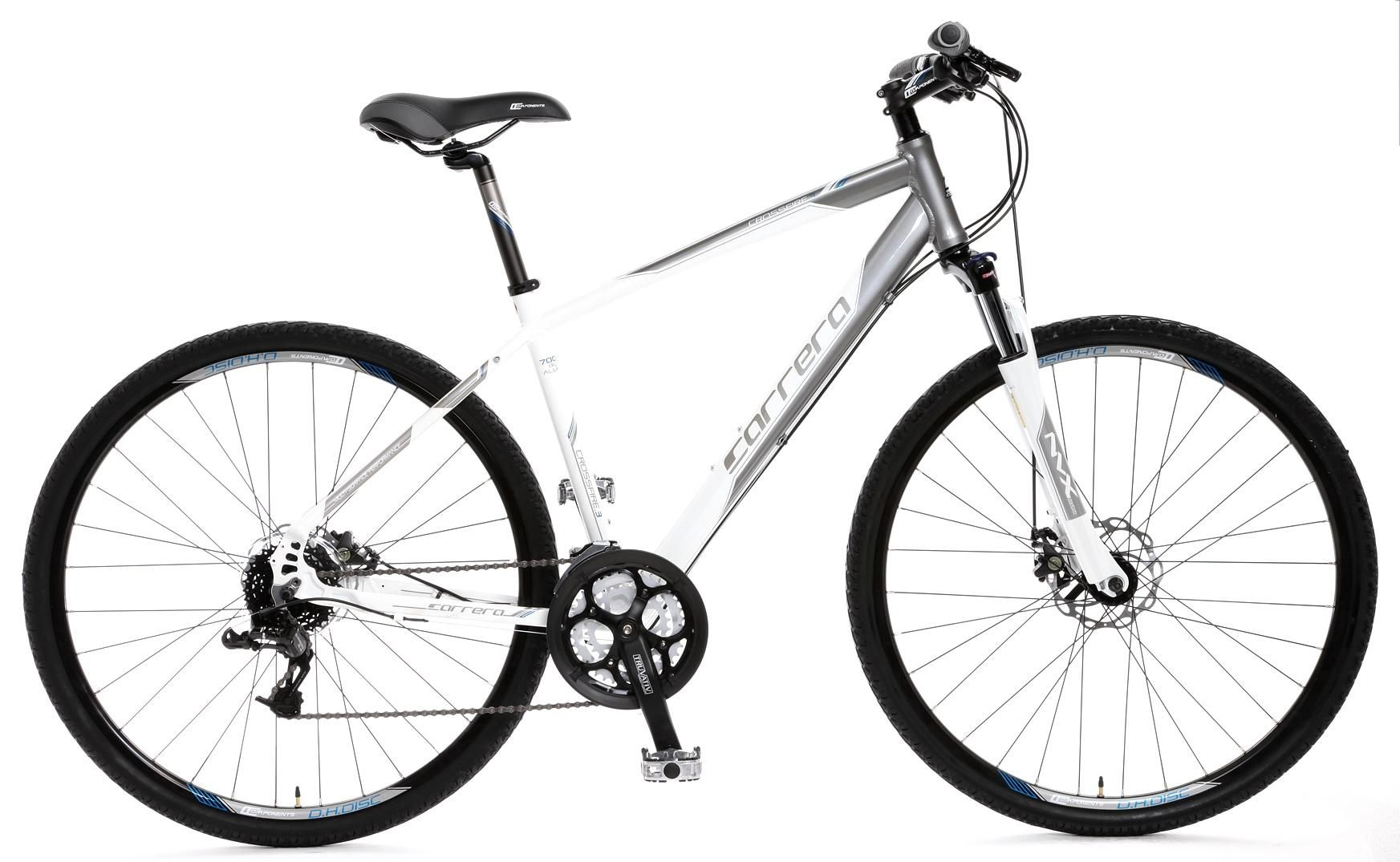 Carrera Crossfire 3 Hybrid Bike Medium 17 inch sports a