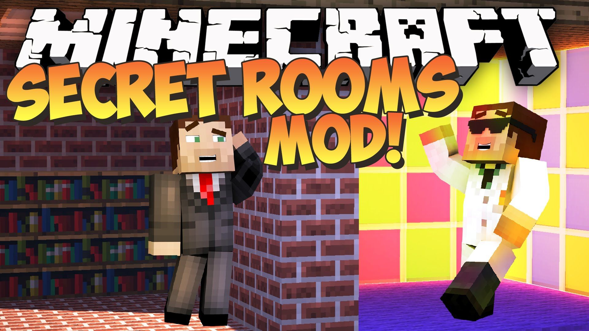 Secret Rooms Mod 1.12.2/1.7.10 Download Secret rooms