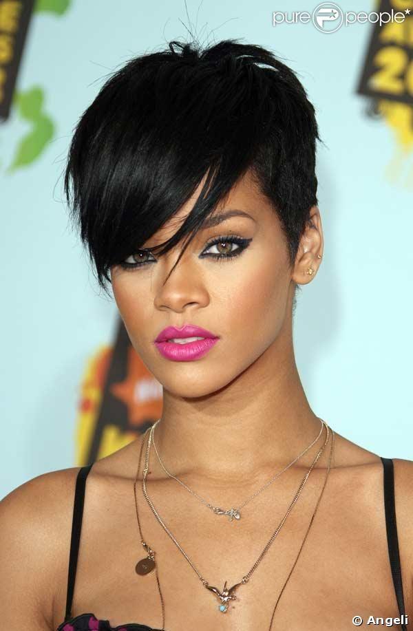 Nerdy Feminist Let S Talk About Rihanna Rihanna Hairstyles Short Hair Styles Hair Styles