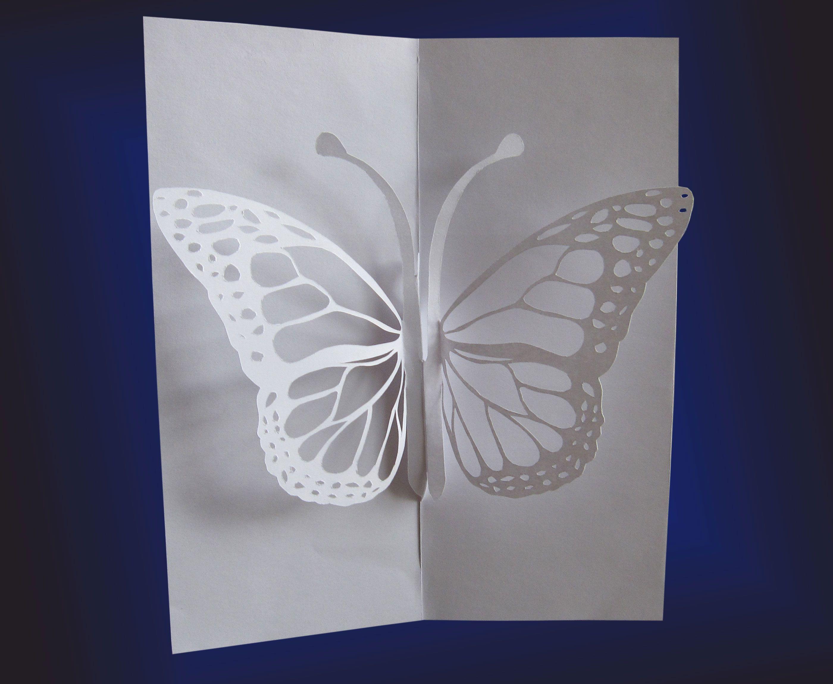 Открытка киригами своими руками