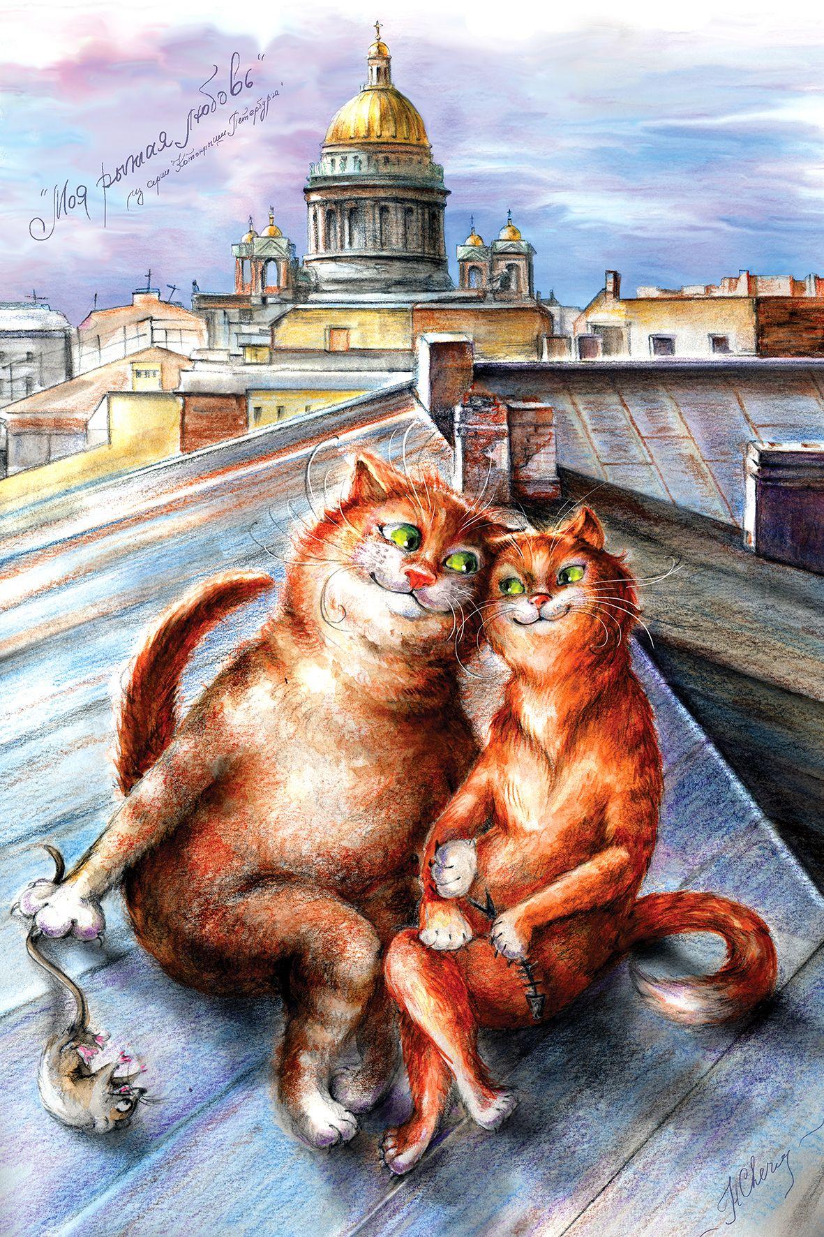 Держись выздоравливай, коты санкт-петербурга открытки