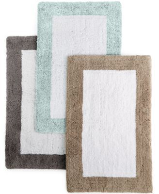 Hotel Collection Color Block Bath Rugs Created For Macy S