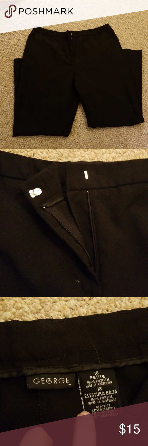 George Dress Pants Dress Pants Gym Shorts Womens Dresses [ 1740 x 580 Pixel ]