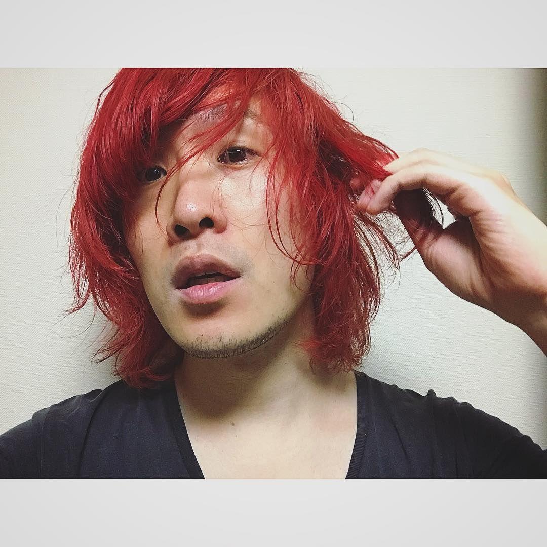 としぞーさんはinstagramを利用しています 髪がオレンジになってきたので だいぶ前に買ったマニパニで 赤メッシュ入れようとしたら真っ赤っかになった まぁいいかぁ セルフカラー マニパニ カラー ヘアカラー 赤毛 セルフカラー ヘアカラー 赤毛