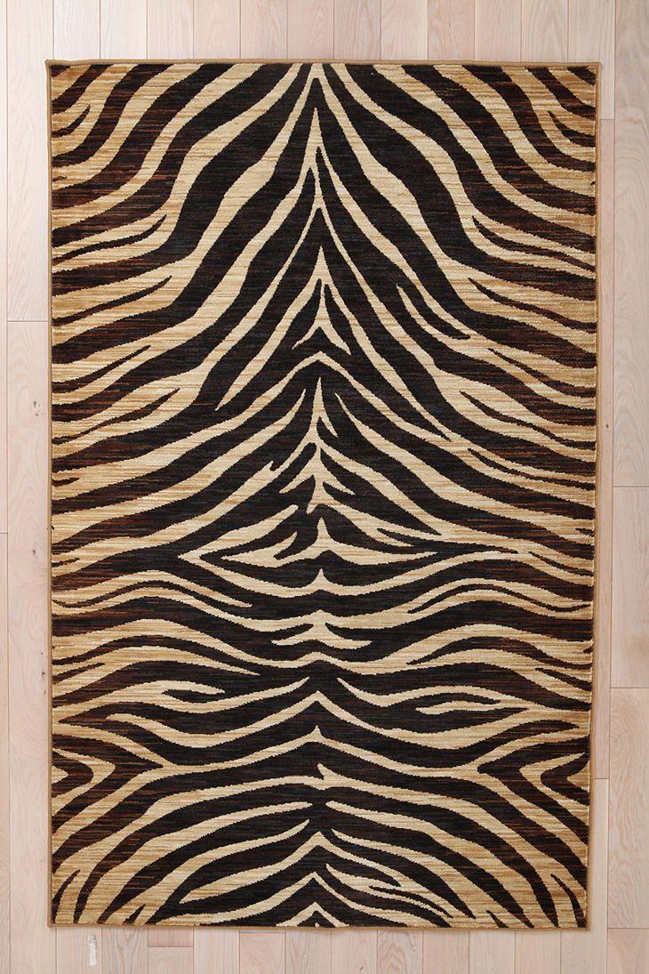 Animal Print Rugs Living Room