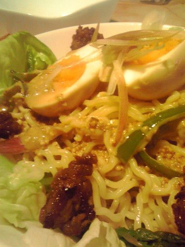 Ramen+Salad+with+Sesame+Dressing+at+Home