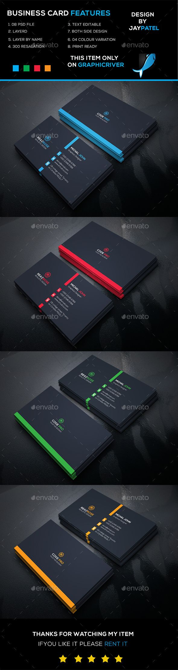 Corporate Business Card Template Psd Graphic Design Business Card Business Card Design Business Cards Layout