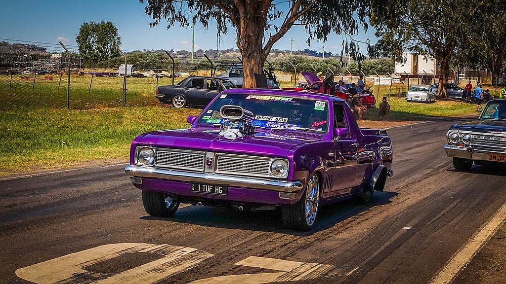 All The Way From Qld Tuf Hg Holden Burnouts Summernats