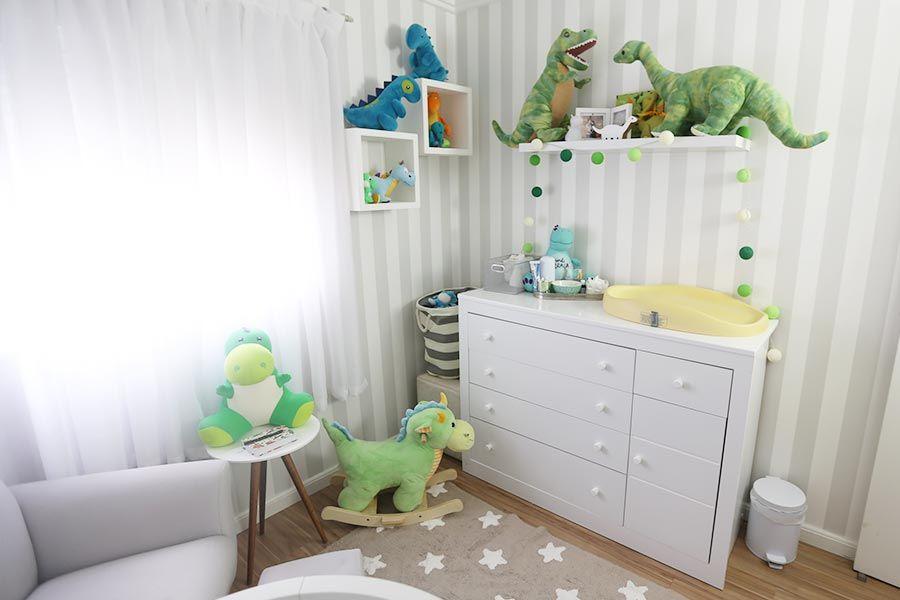 f19e75bb2 Quarto do bebê - tema dinossauros