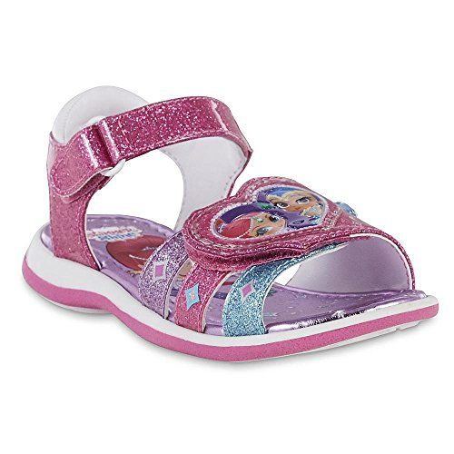NEW NWT Girls Baby Toddler Sandals Shimmer and Shine Size 7 Gems