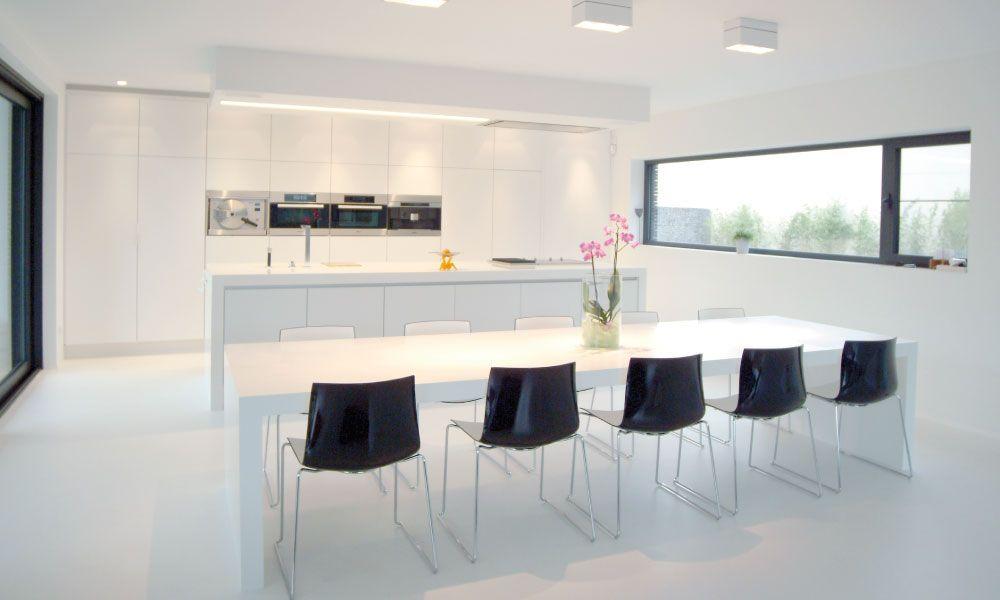 Keuken Strak Wit : GF Concepts – Uw Interieurspecialist ...