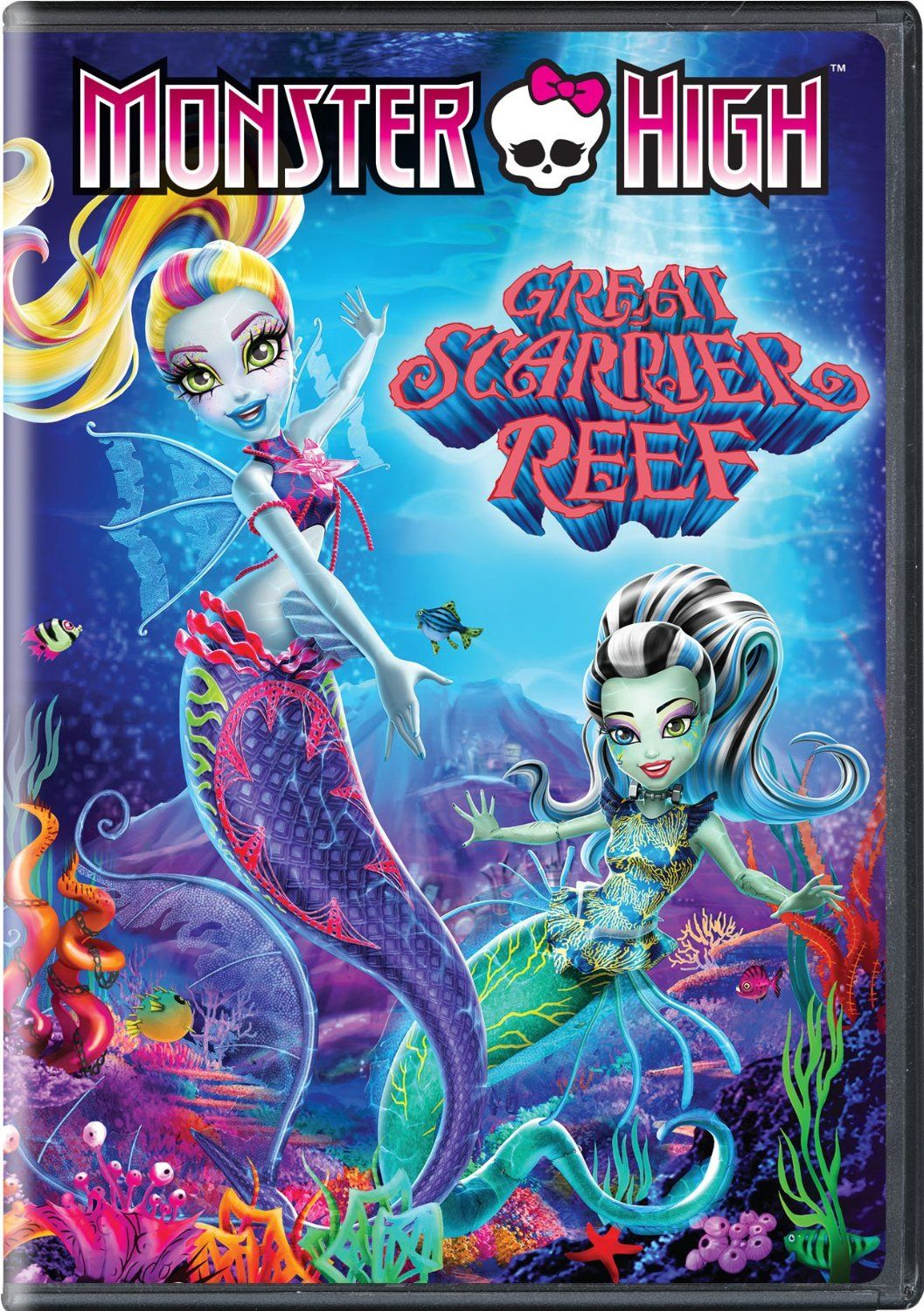 DVD & Bluray MONSTER HIGH GREAT SCARRIER REEF (2016