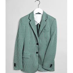 Photo of Gant Preppy Check Jersey Blazer (Grün) Gant