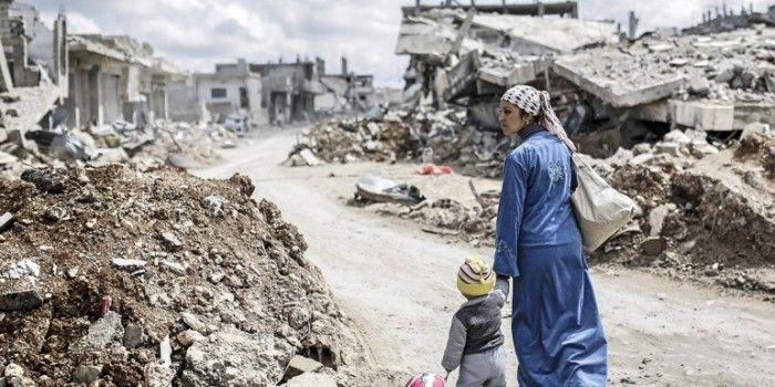 Guerra e distruzione in Siria