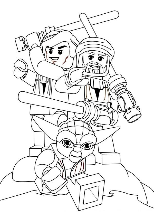 Lego Star Wars Coloring Pages FREE LEGO STAR WARS | coloring_pages ...