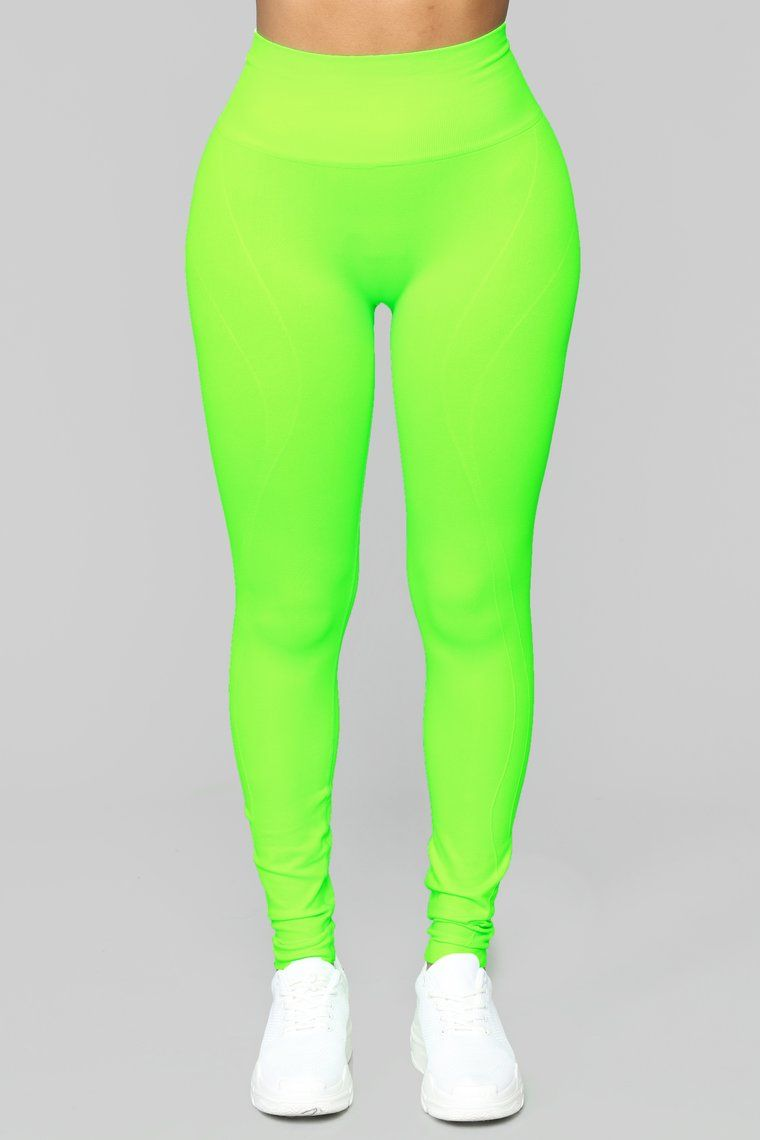 e958d32e5d10b Werk It Active Leggings - Neon Green in 2019 | Bad & Boujee | Green ...