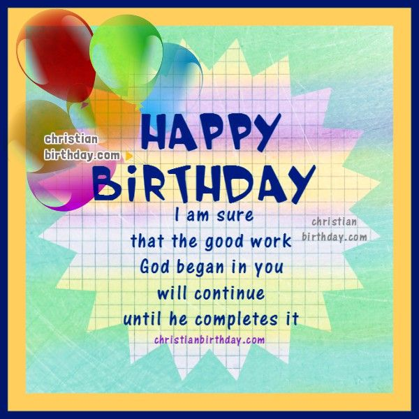 Bible Verse Happy Birthday Quotes