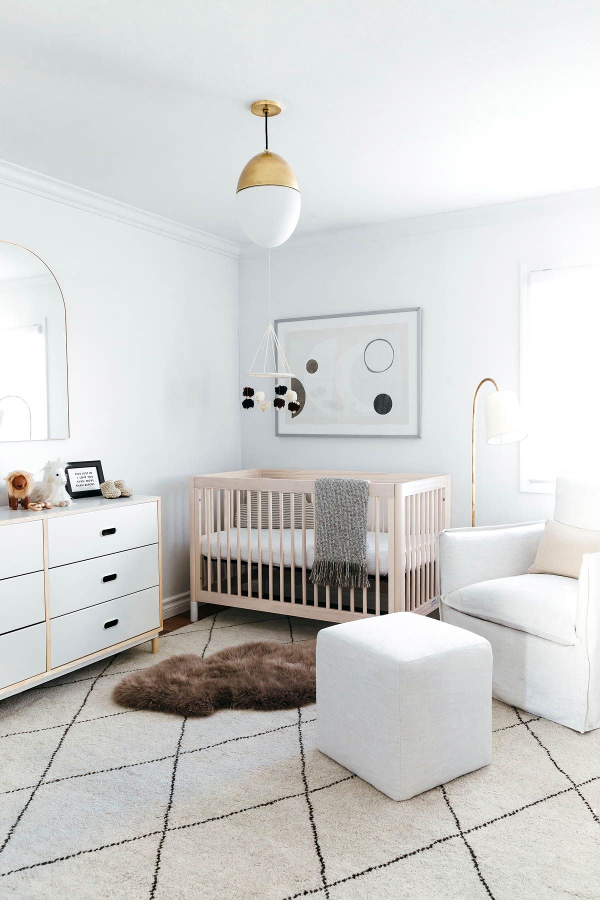 Baby Boy Neutral Nursery Modern Nursery Gender Neutral