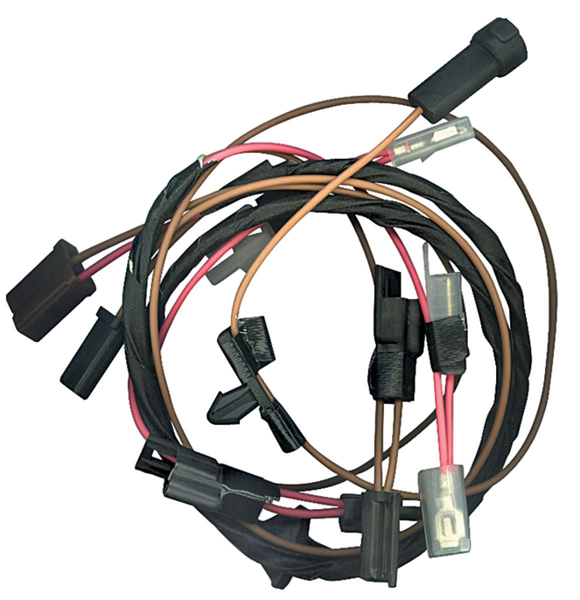 1964-1977 Chevelle Cowl Induction Wiring Harness, by M&H @ OPGI.com