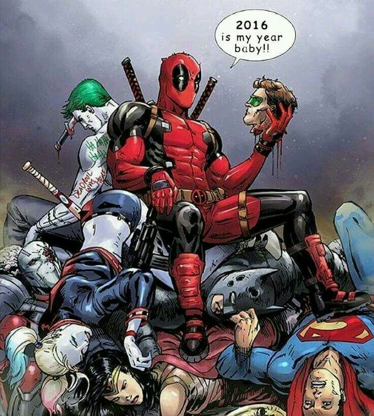 Deadpool kill DC comic's!   deadpool!   Pinterest ... X Men Deadpool Drawings