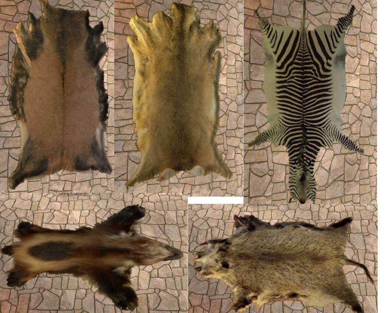 Sims The Simstones Real Fur Rugs
