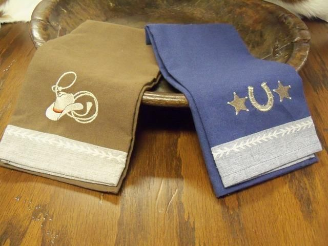 Southwest Kitchen Towel Designs Embroidered Western Dish Towels Kitchen Towels Embroidered Kitchen Towels Embroidered Towels
