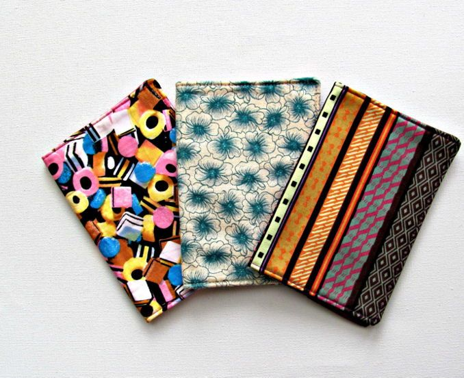 Fabric passport cover. Travel, ticket holder